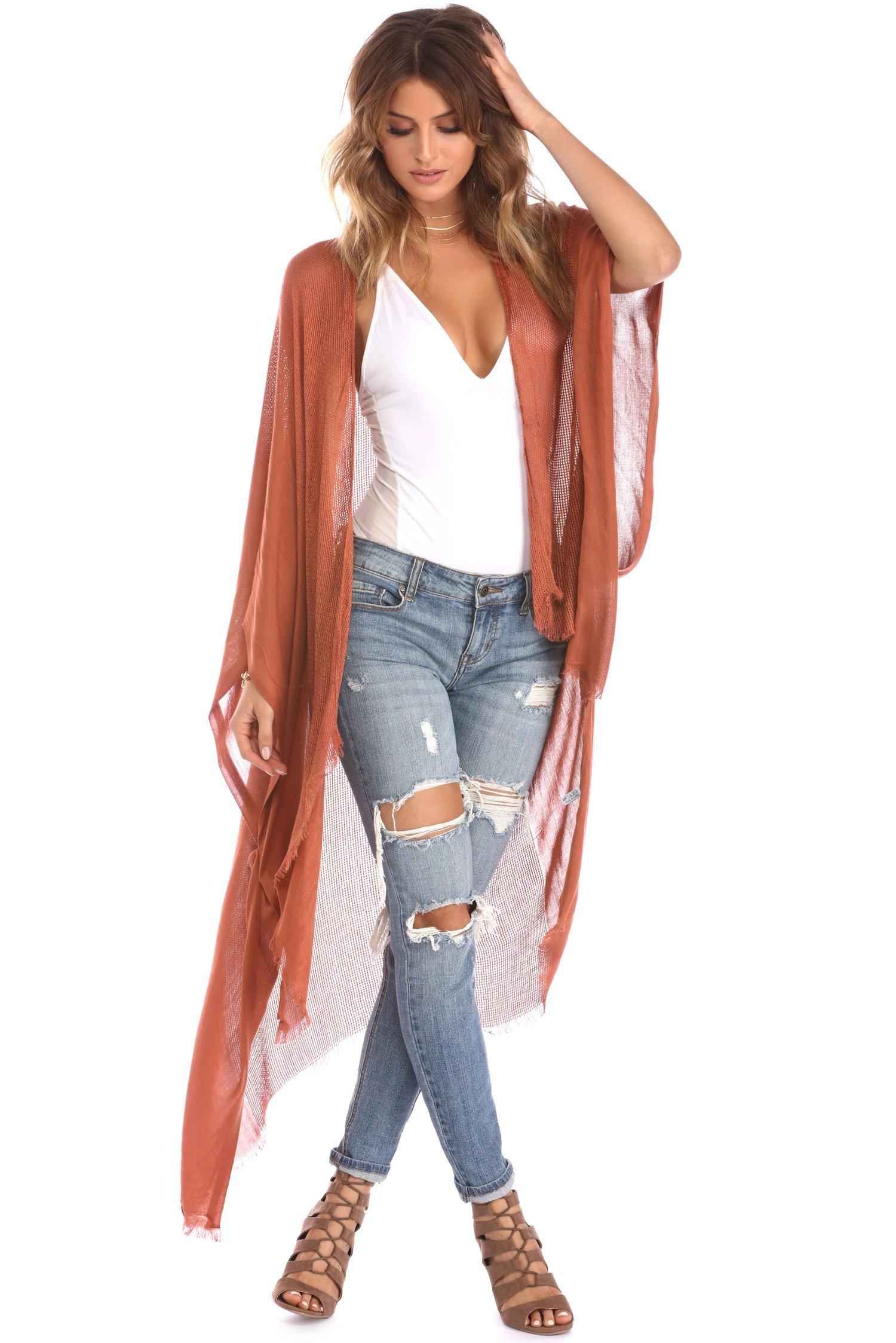 Image of Summer Kimono Rust