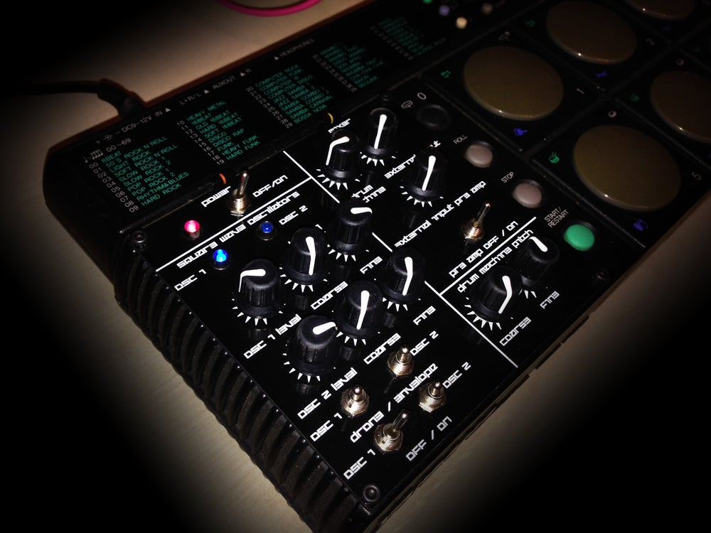 Image of CIRCUIT BENT YAMAHA DD-10 DRUM MACHINE