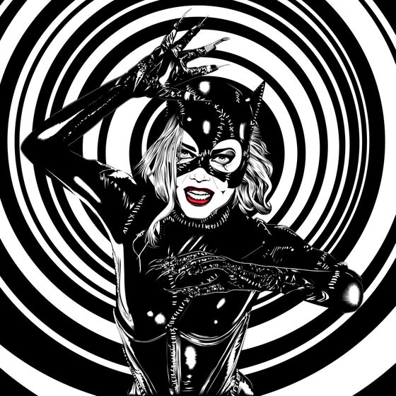 Image of I Am Catwoman. Hear Me Roar. 11x17 Poster