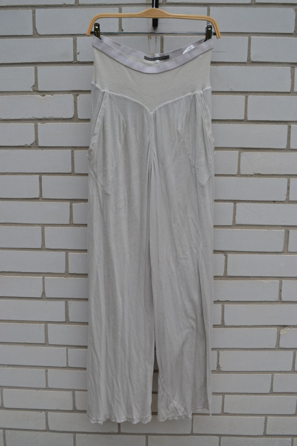 Image of Rick Owens Lilies White Long Pants
