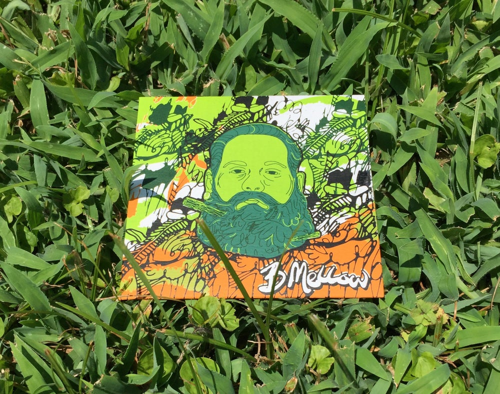 """Image of BeeF-""""B Mellow"""" Limited Edition ScreenPrinted Cover CD"""