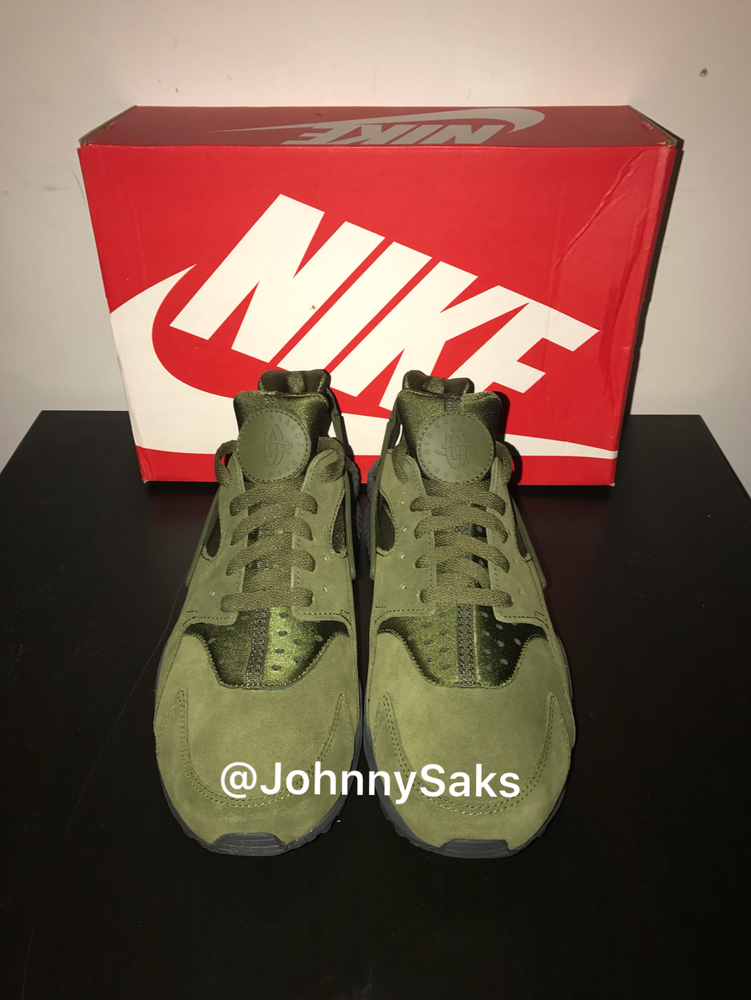 "Image of Nike Air Hurache Run ""Legion Green"""