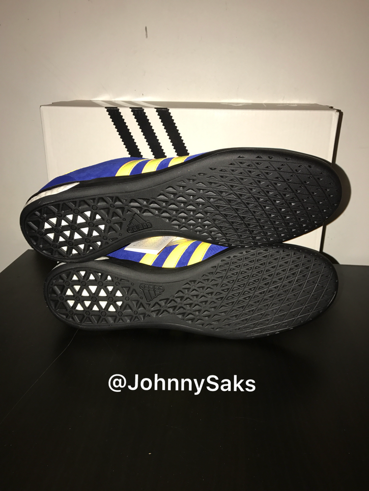"Image of Adidas Indoor Palace ""Bold Blue/Solar Yellow"""
