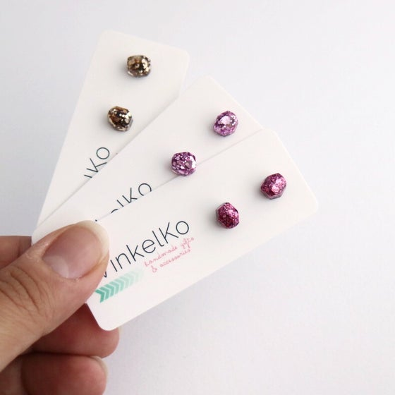 Image of Mini Glitz Studs