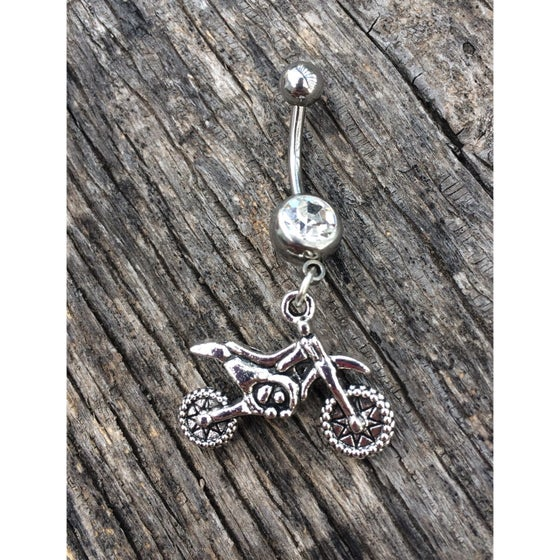 Image of Dirt Bike Belly Ring