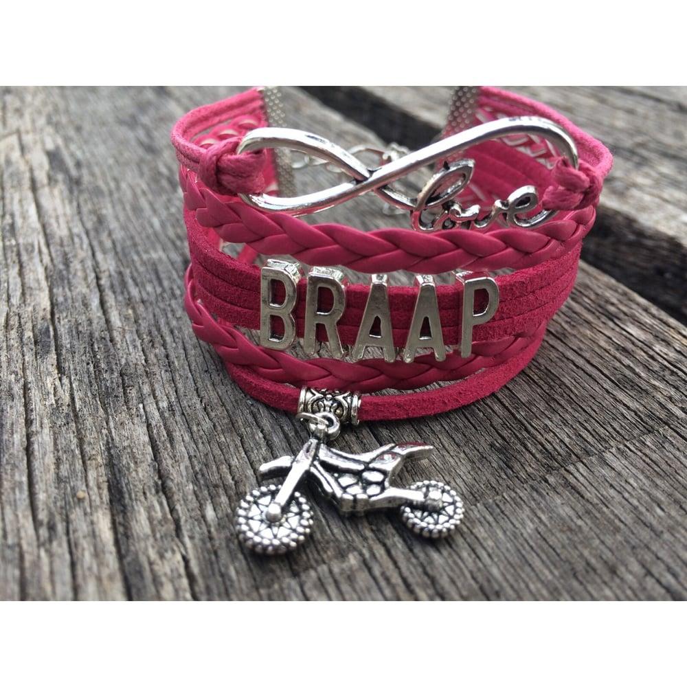 Image of BRAAP Infinity Bracelet