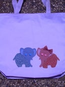 "Image of ""Elephant Love"" Tote"