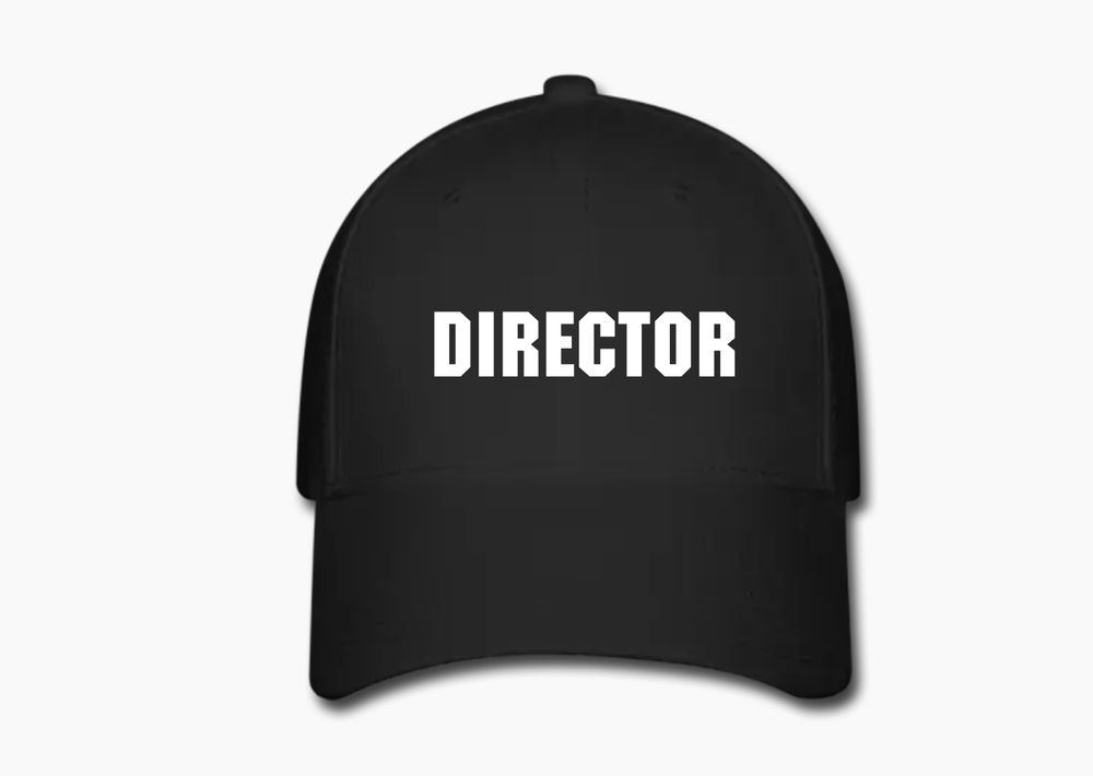 Image of Directors Cap (Black)