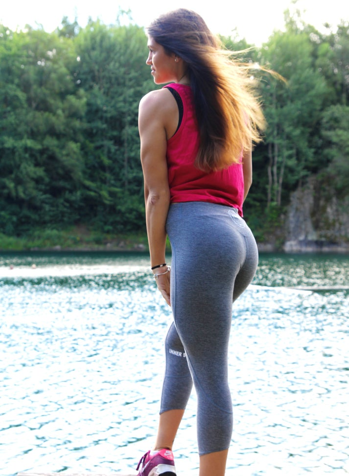 Image of INNER STRENGTH LEGGINGS | GREY