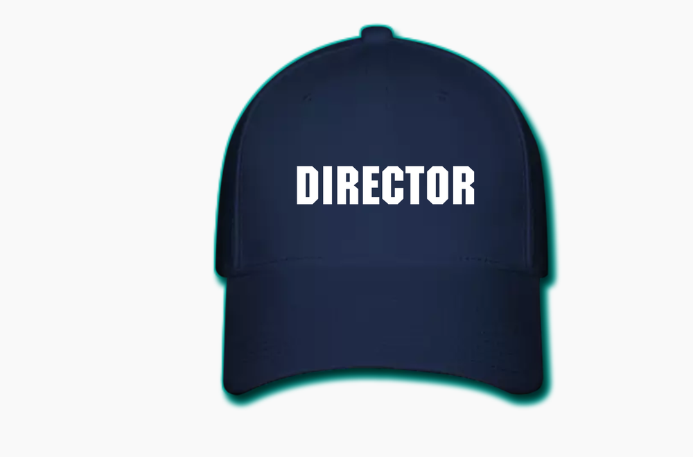 Image of Directors Cap (Navy Blue)