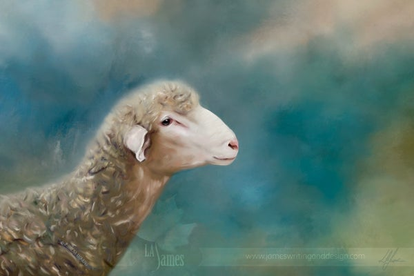 Image of Psalm 119:176 -- Lost Sheep