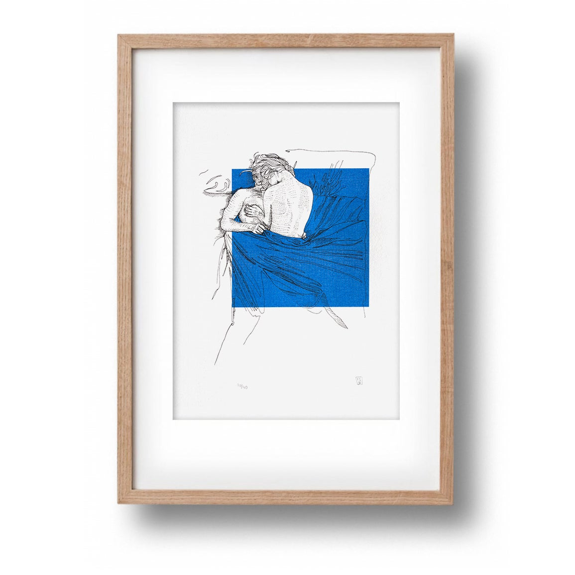 Image of #74 Between The Lines Print