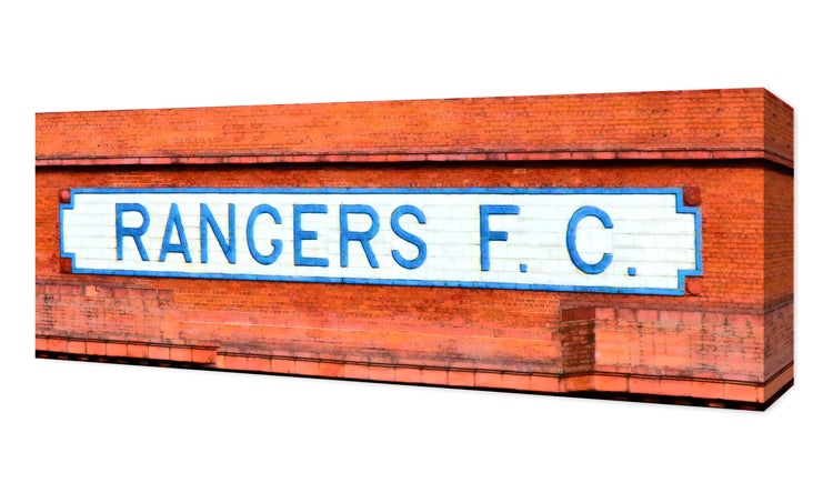 Image of Rangers F. C. Ibrox Bill Struth Stand Facade