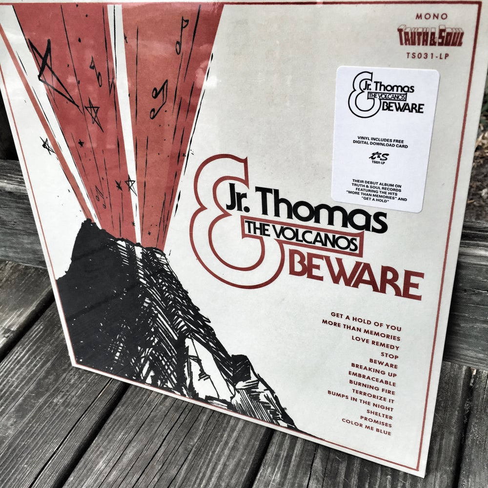 Jr. Thomas & The Volcanos - Beware (LP+mp3)