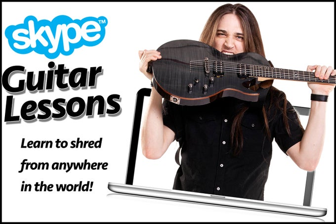 Image of Skype Guitar Lessons