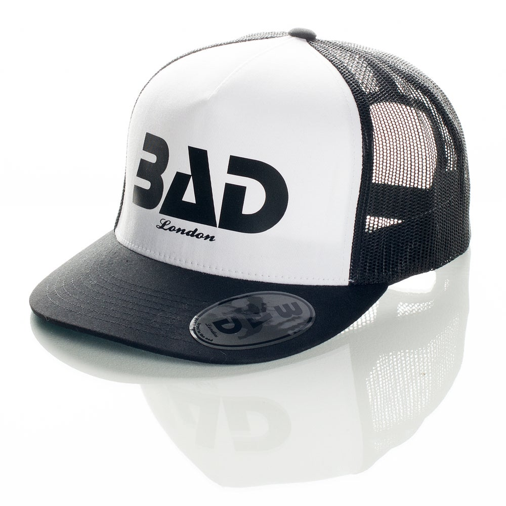Image of Bad clothing London Couture Fashion Premium Street Wear and Sports Apparel Trucker Snapback