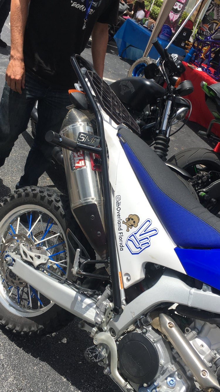 Image of WR250 12 bar / Scrape bar