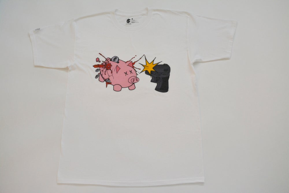 Image of Piggy Bank Tee (Color)
