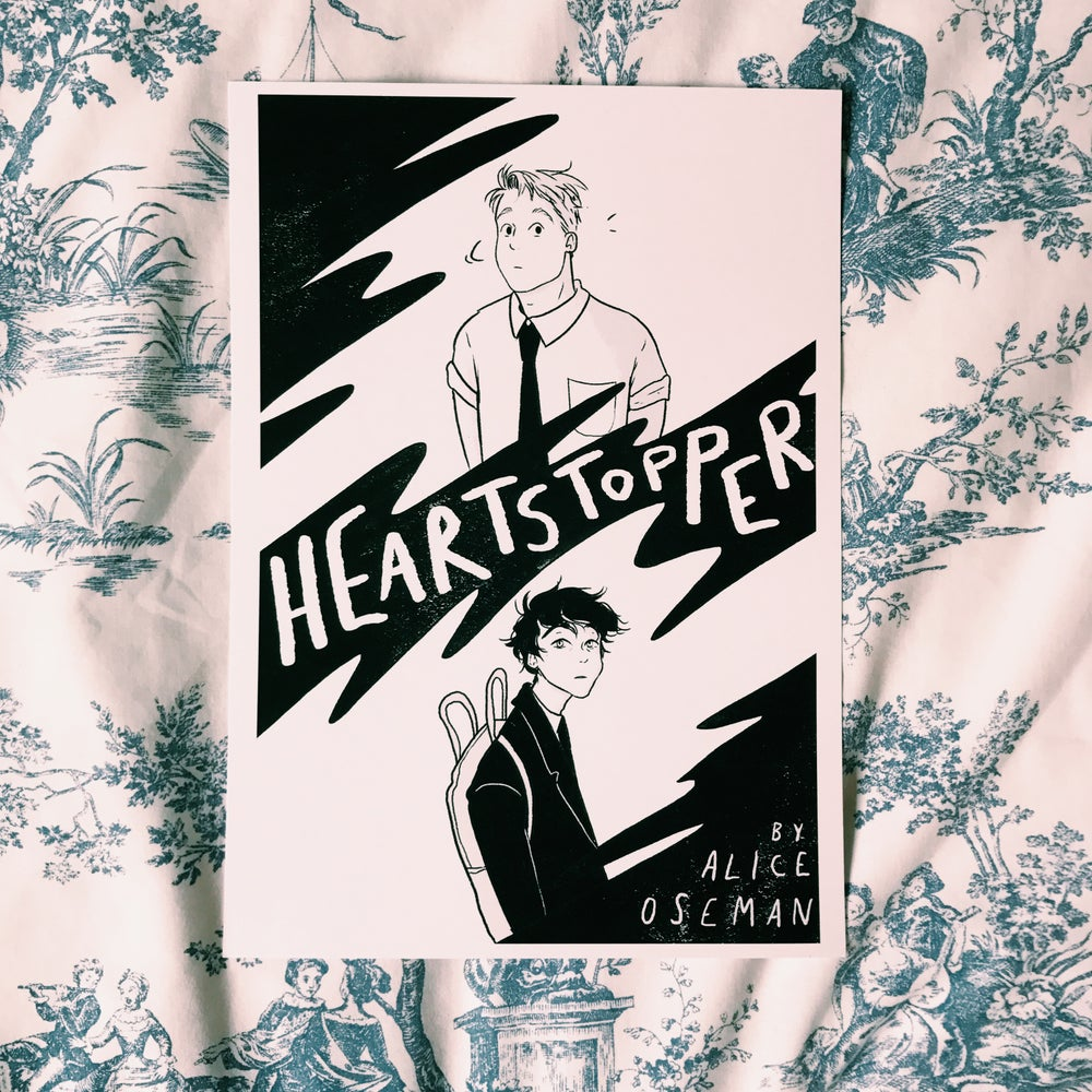 Image of HEARTSTOPPER A4 Print
