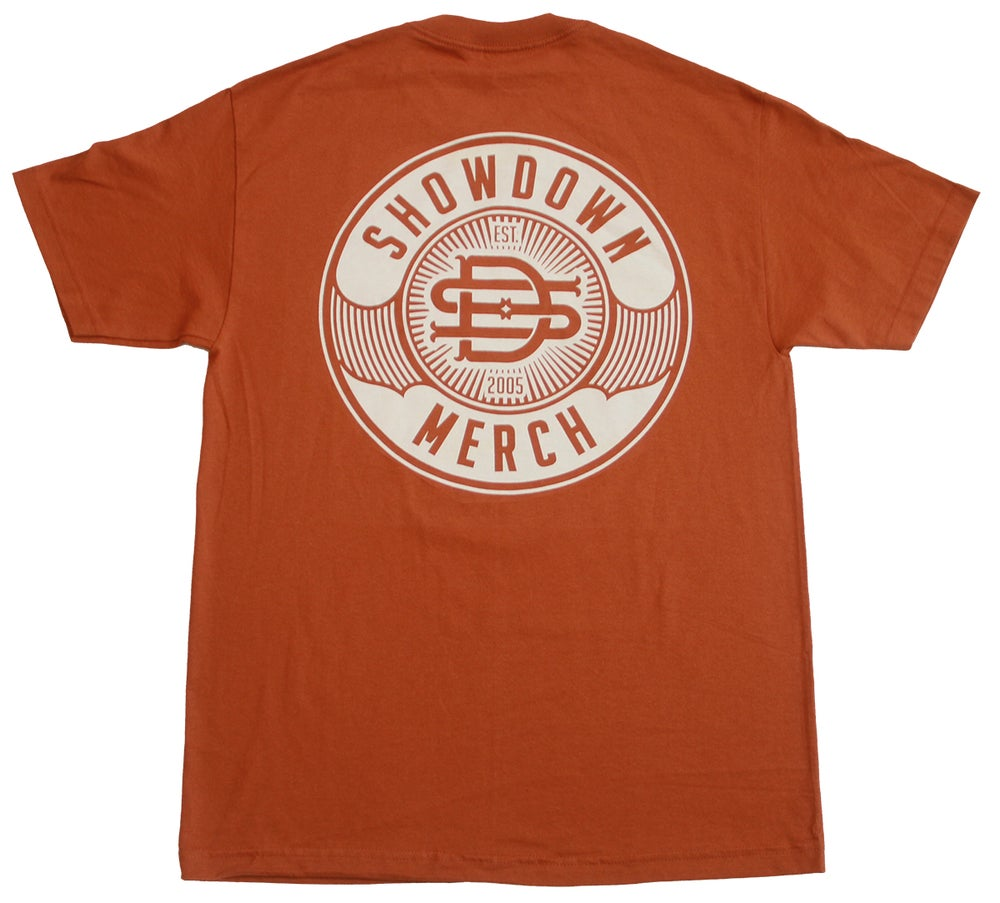 Image of Burnt Orange Work Shirt