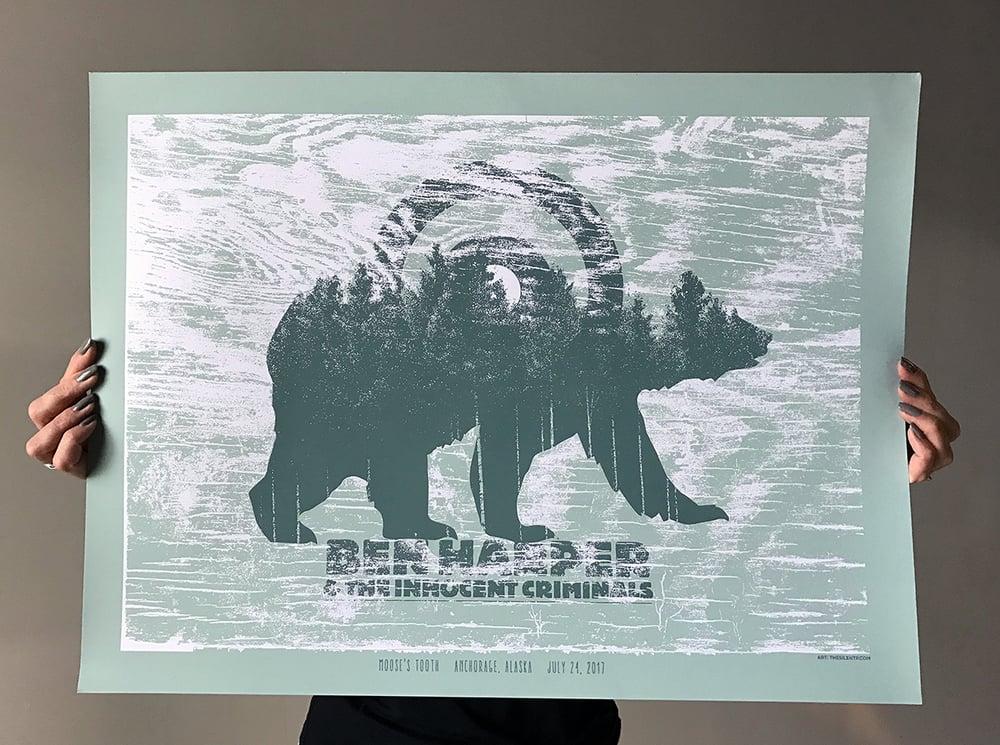 Ben Harper & The Innocent Criminals, Alaska Poster
