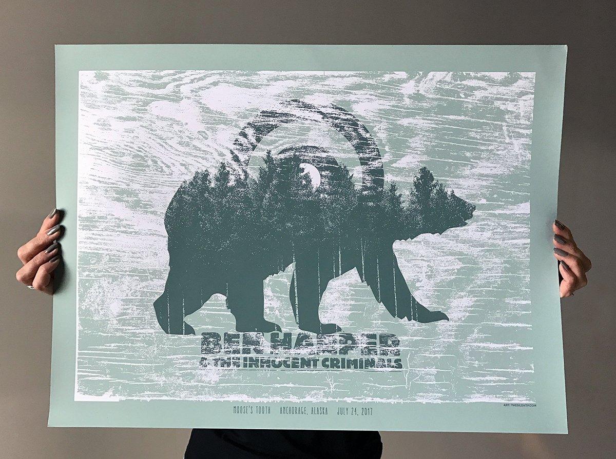 Image of Ben Harper & The Innocent Criminals, Alaska Poster