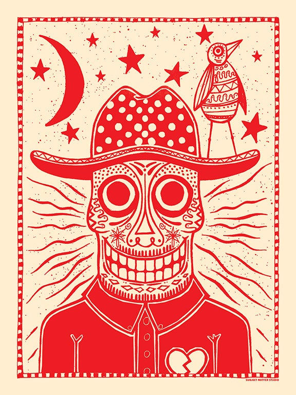 Image of Sugar Skull Art Print
