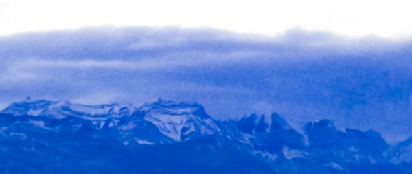 Image of Mountains at Dusk