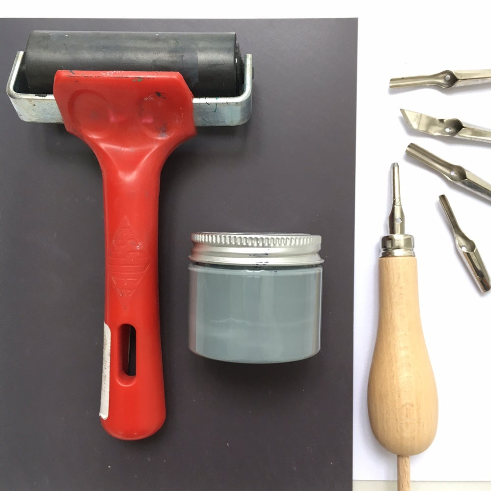 Image of Lino printing Supplies