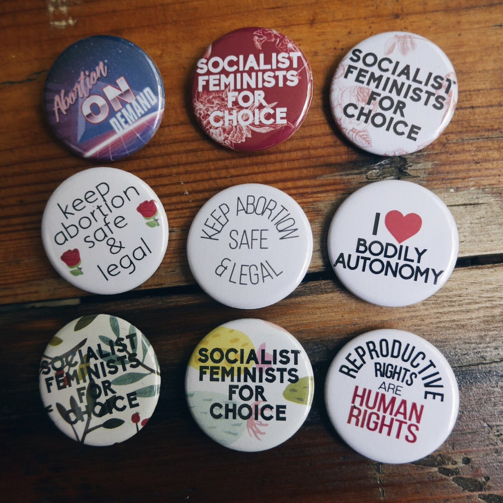Image of Reproductive Rights Buttons