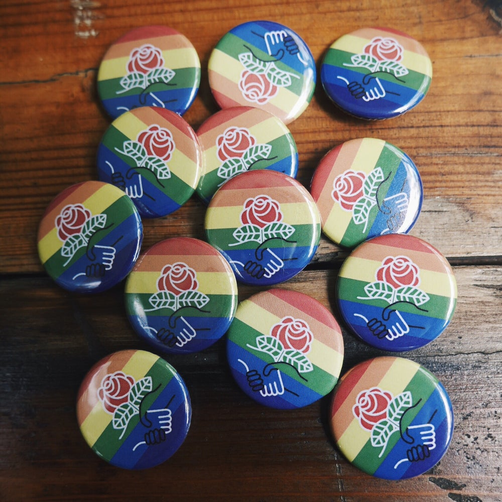 Image of DSA Pride Buttons