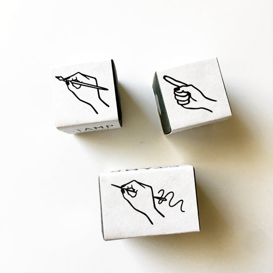 Image of Knoop Works Hand Rubber Stamps