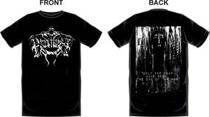 """Image of """"Only the dead have seen the end of the war."""" T-SHIRT"""