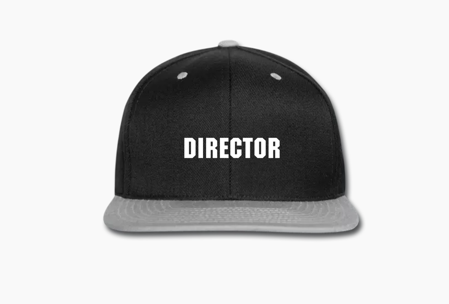 Image of Directors Snapback (Black)
