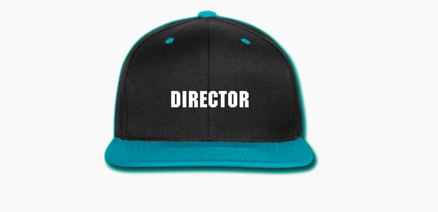 Image of Directors Snapback (Light Blue)