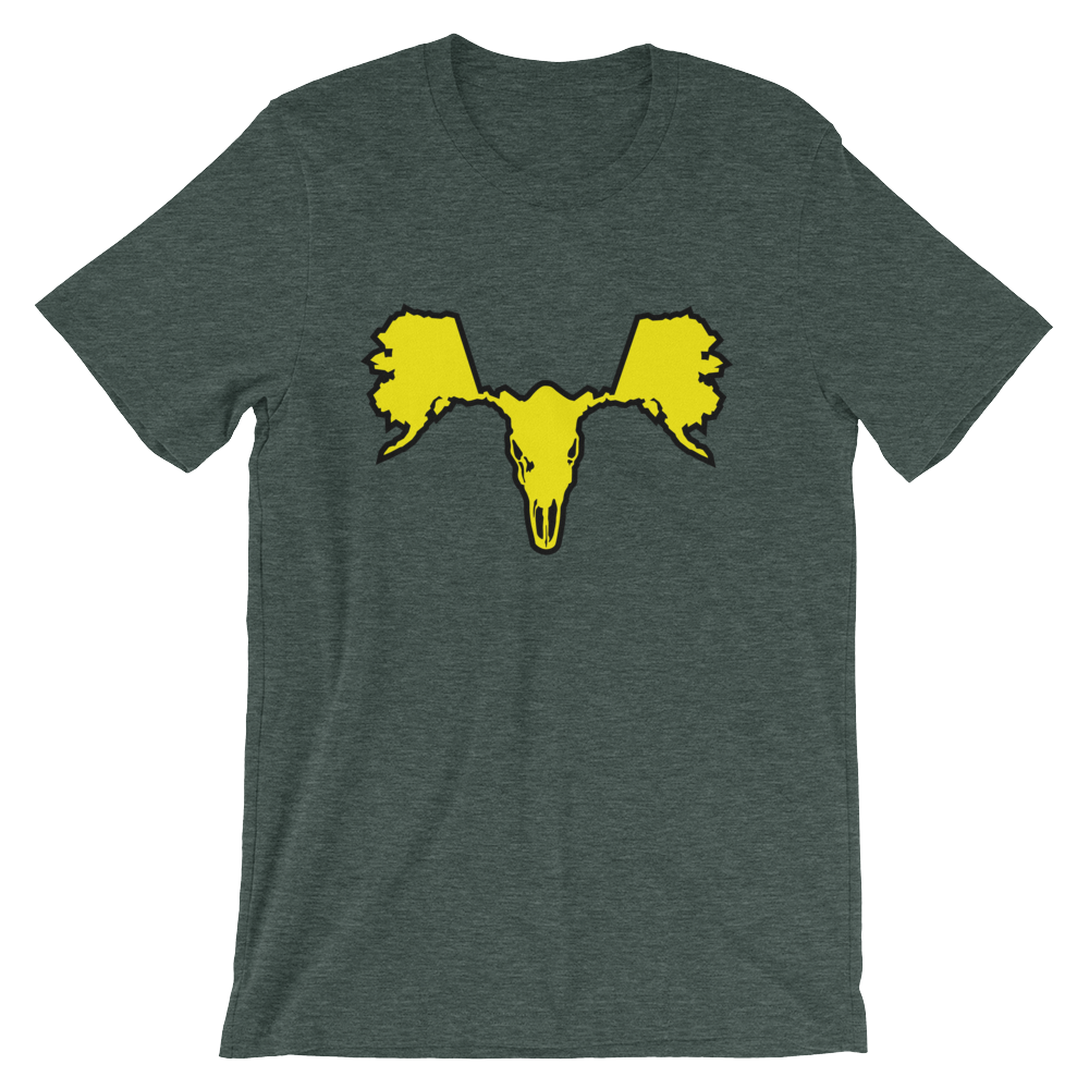 Image of Men's Alaskull Moose - Green/Yellow