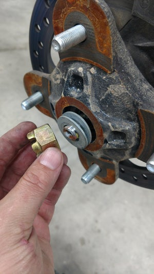 Image of LPS UTV RZR upgraded axle washers.
