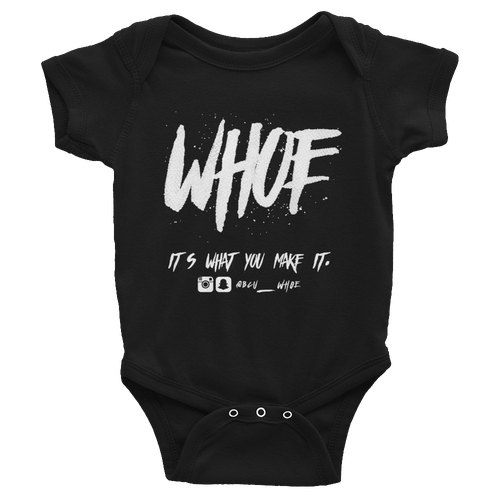 Image of WHOE® T-shirt (Black or White)
