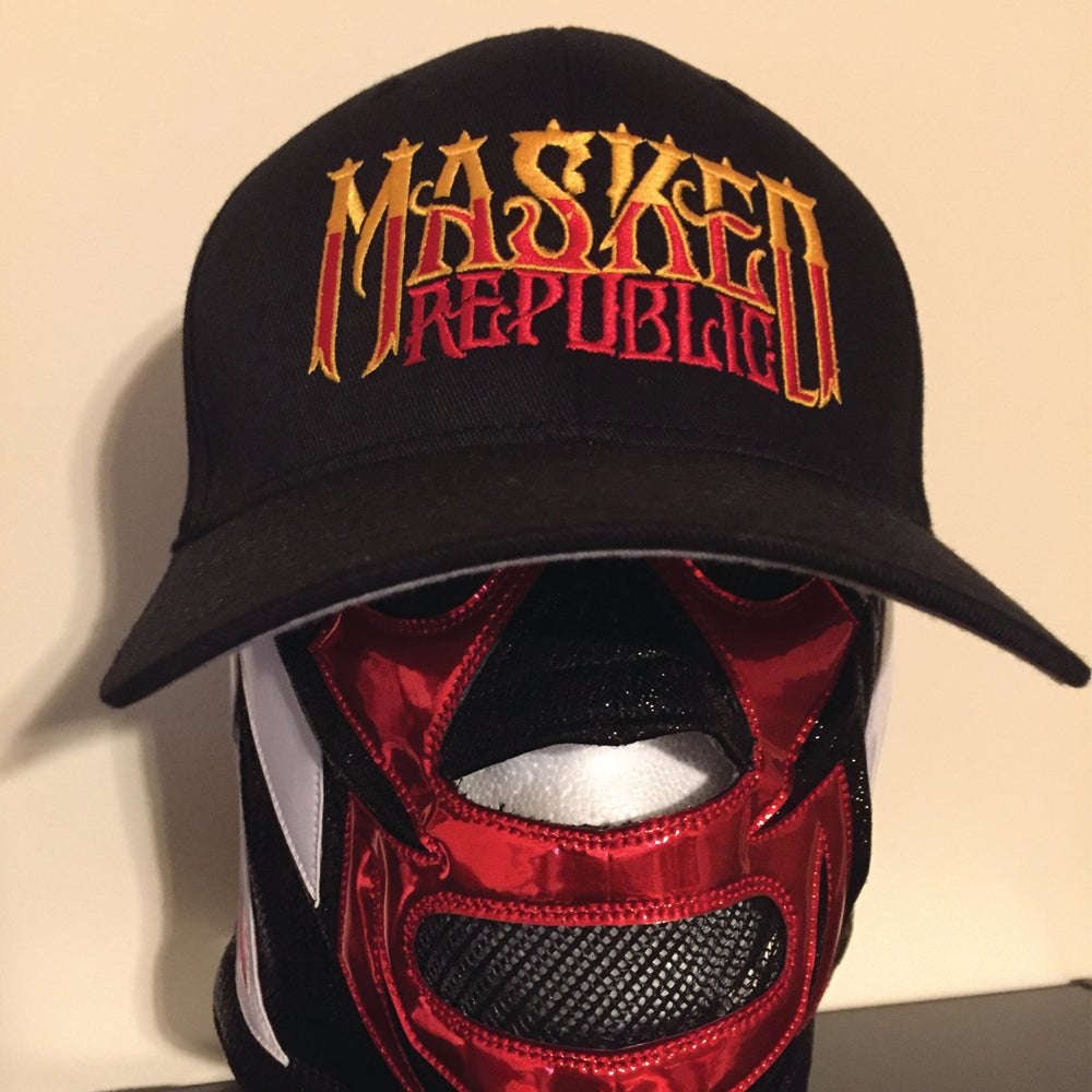 Image of Masked Republic Logo Embroidered Flexfit Hats