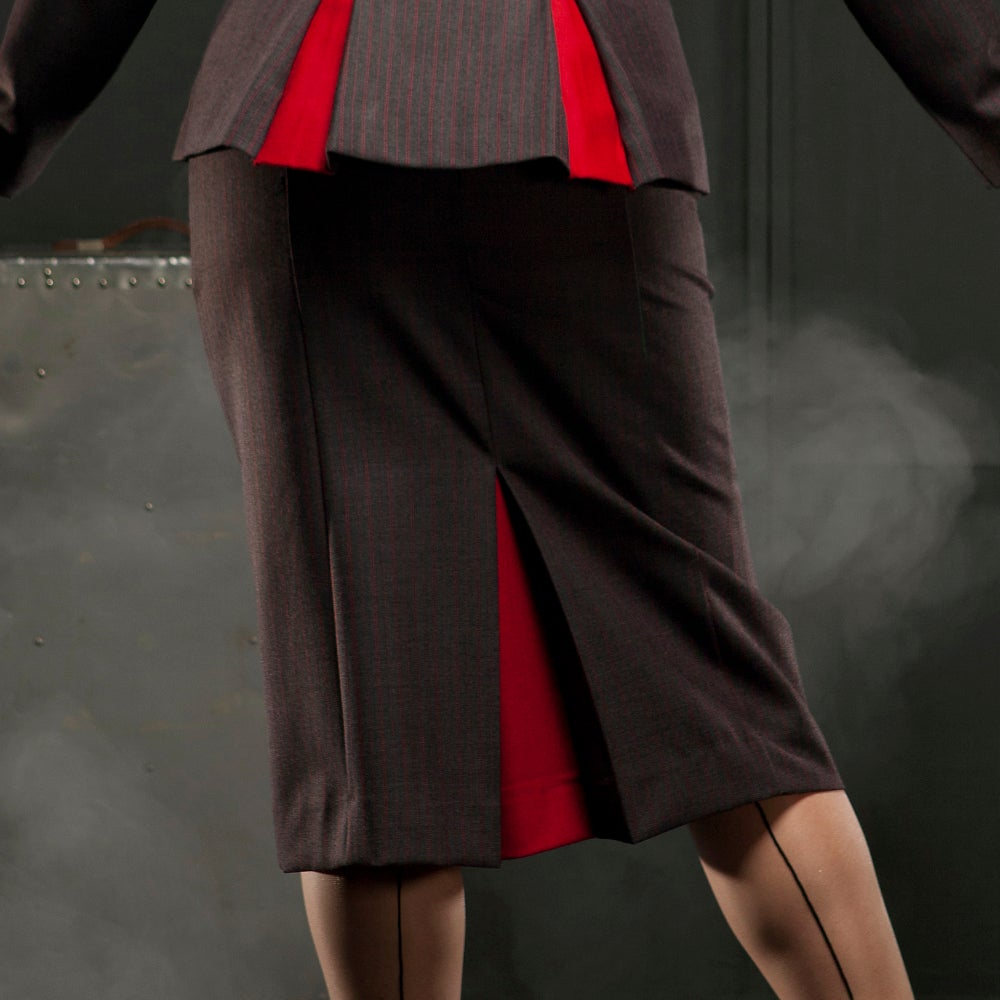 Image of CHATELAINE HIGH WAISTED SKIRT