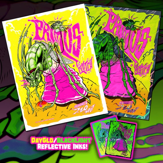 Image of Primus Sterling Heights DayGlo/ Blacklight Print