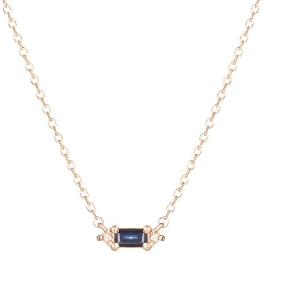 Image of Mini Sparkling Emerald Necklace