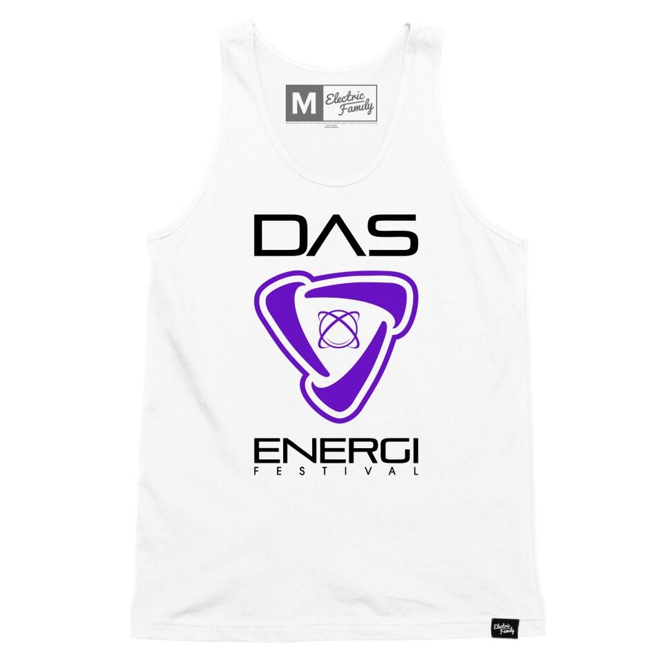 Image of Limited Edition Electric Family Collab Energi Icon: White Tank
