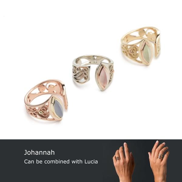 Image of Johannah (2014) ~ Filigree rings