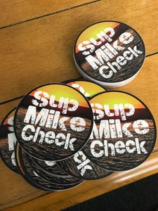 Image of SupMikecheck Sticker