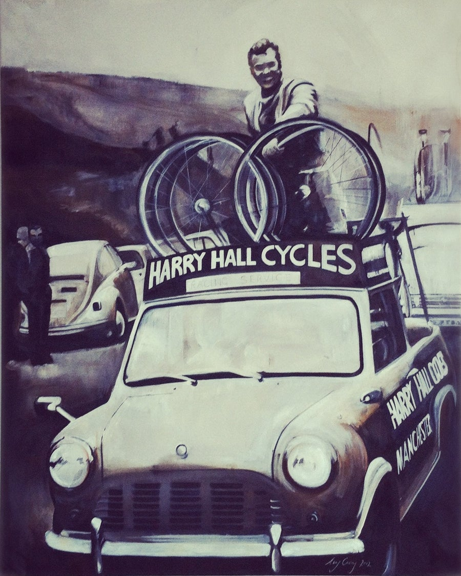 Image of Harry Hall Cycles Manchester | Print