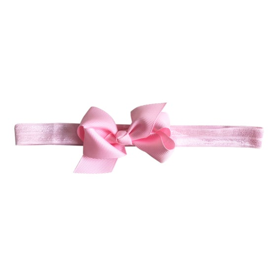 Image of Ballerina Baby Bow Headband