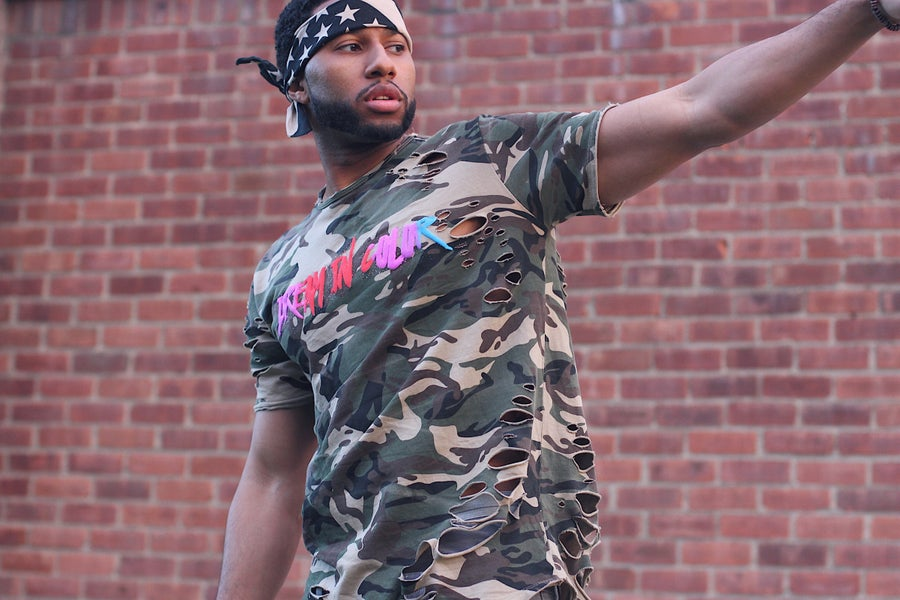 "Image of #DreamInColor ""Cold War"" Camo Tee **LIMITED EDITION**"