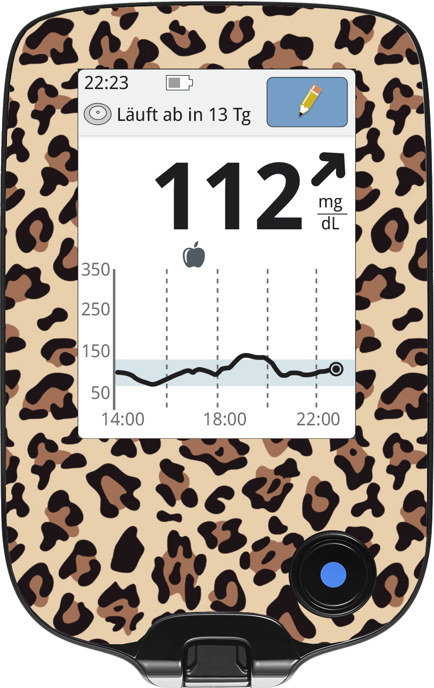 Image of Leopard Freestyle Libre Screen Protector