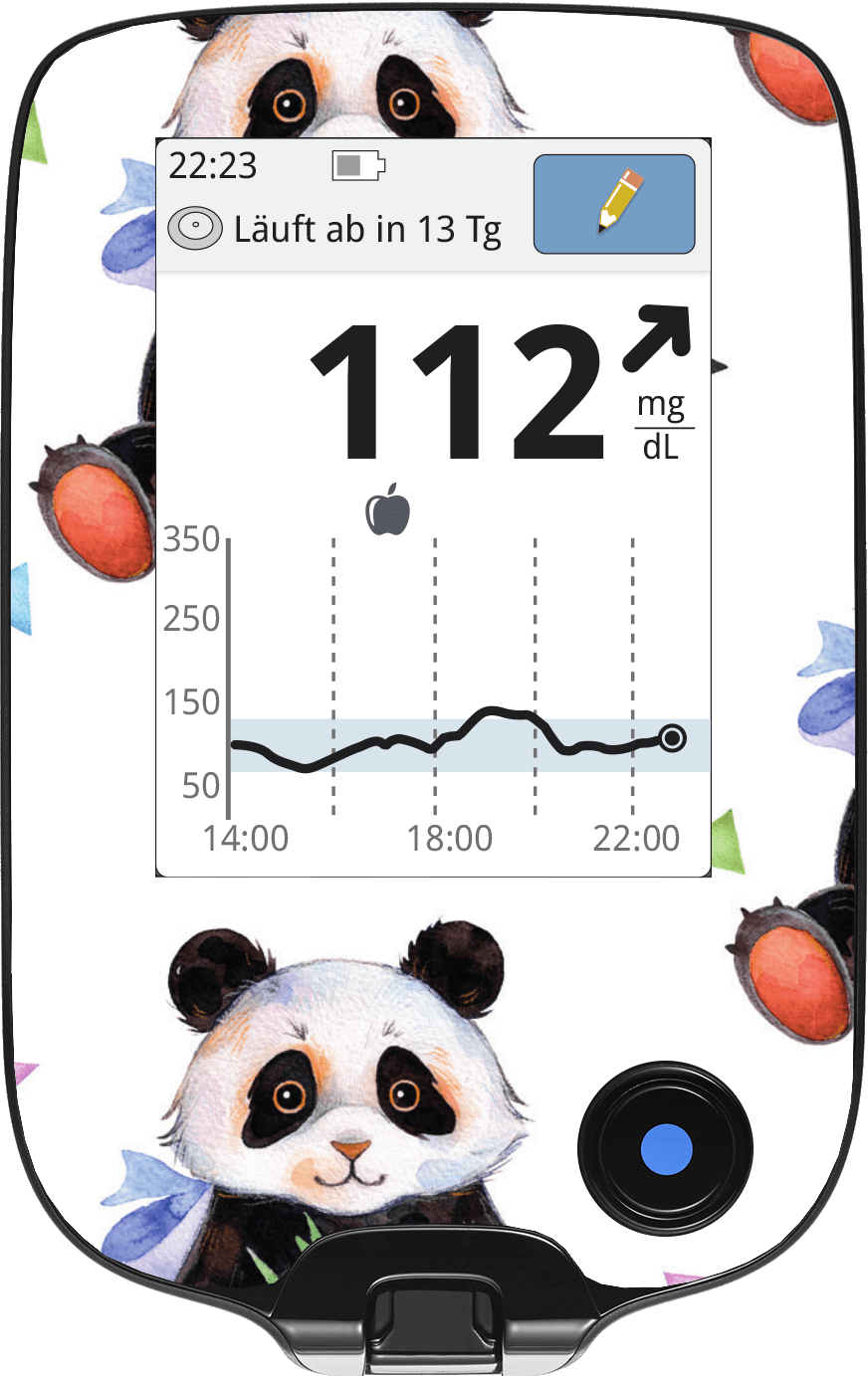 Image of Panda Freestyle Libre Screen Protector